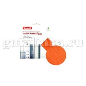 Чистящая салфетка для стекол и зеркал Maxi 50х50 см VALIANT - VAL H26-RA