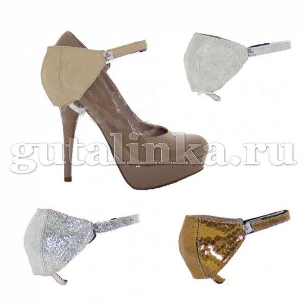 Автопятка HEEL MATE De Luxe для женской обуви с каблуком кожа -