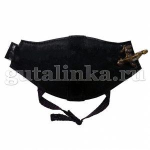 Автопятка Классическая AutoHeel черная для женской обуви на каблуке застёжка карабин одна штука - AH-1301