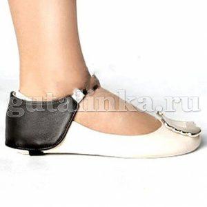 Автопятка HEEL MATE de Luxe для женской обуви без каблука кожа - HМ002-De Luxe
