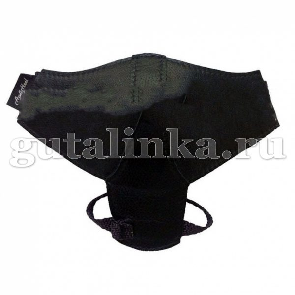 Автопятка Классическая AutoHeel чёрная с защитой каблука для женской обуви на каблуке застёжка липучка одна штука - AH-1101-K