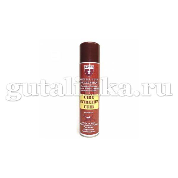 Аэрозоль для гладкой кожи AVEL Cire Entretien Cuir 400 мл - sphr4037