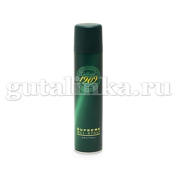 Спрей 1909 для гладкой и жированой кожи Wax spray COLLONIL аэрозоль 200 мл - 1892000