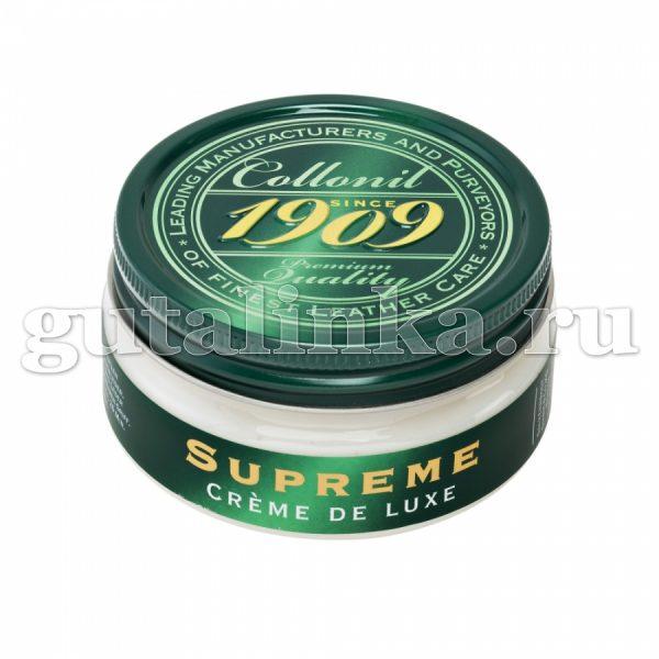 Крем-люкс 1909 Creme de luxe COLLONIL цветной банка 100 мл -