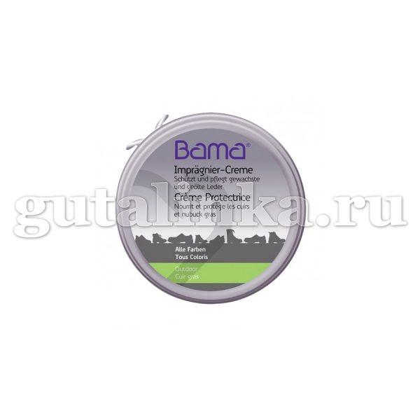 БАМА Воск защитный натуральный в жестяной банке 100 мл - A41