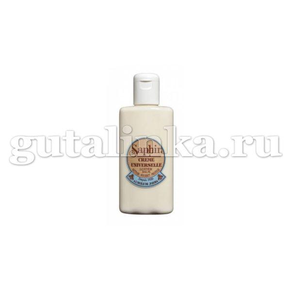 Очиститель-бальзам для всех видов гладких кож Creme Universelle SAPHIR пластиковый флакон 150 мл - sphr0904