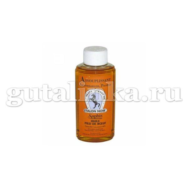 Смягчитель Assouplissant Etalon Noir SAPHIR для всех видов гладких кож пластиковый флакон 200 мл - sphr0951