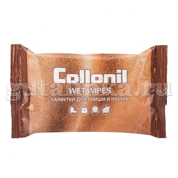 Салфетки влажные Collonil для замши нубука и велюра 15 штук - WWN15