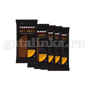Очищающие салфетки влажные TARRAGO для гладкой кожи 15шт - TWL11
