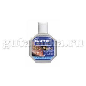 Очиститель для удаления пятен и разводов от соли с разных материалов Detacheur SAPHIR пластиковый флакон 75 мл - sphr0533