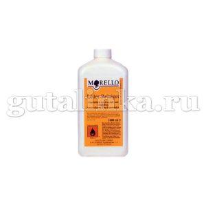 Чистящее средство для очищения кожи перед окраской или перекрашиванием Leder - Reiniger MORELLO фляжка 1000 мл - 903151