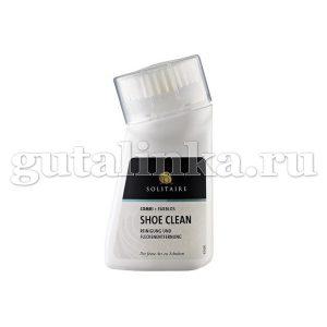 Средство для интенсивной очистки Shoe clean SOLITAIRE флакон с щеткой 75 мл -