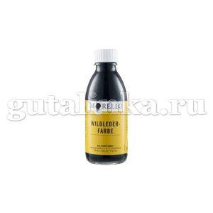 Краситель Wildleder-Farbe MORELLO для велюровой кожи 100 мл -