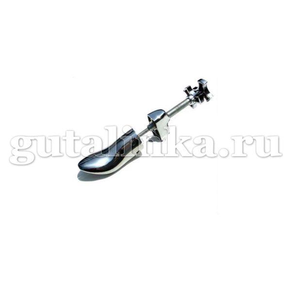 Растяжка винтовая металлическая с металлическим винтом для обуви универсальная колодка с пяткой -