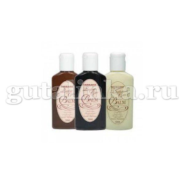 Бальзам-очиститель для всех видов гладких кож и кож рептилий Leather Care Balm TARRAGO флакон 125 мл -
