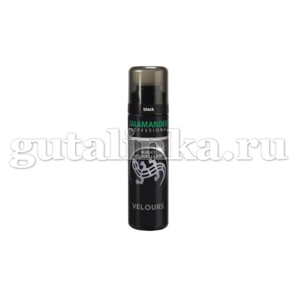 Крем Nubuck Velours Liquid SALAMANDER Professional флакон с губкой 75 мл -