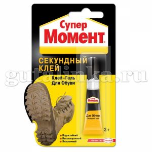 """Клей-гель """"Супер Момент для ОБУВИ"""" Henkel 3 г - 312194"""
