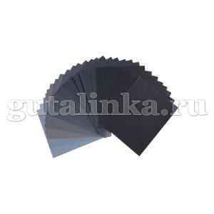 Наждачная бумага для реставрационных работ влагостойкая 7х115 см -