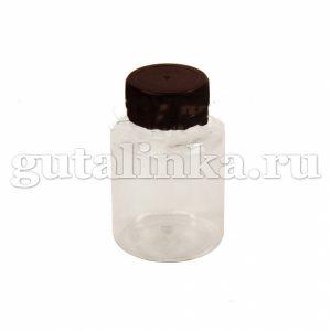Банка прозрачная для смешивания и хранения красок и бытовой химии с крышкой 125 мл ГАЙ-К - 2189/9158