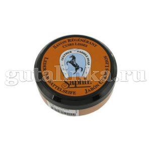 Очиститель мыло для всех видов гладких кож Etalon Noir Saddle Soap SAPHIR банка пластик 100 мл - sphr0504