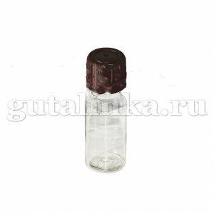 Флакон ПЭТФ прозрачный для смешивания и хранения красок и бытовой химии с крышкой 15 мл ГАЙ-К - 1207/9138