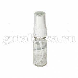 Флакон ПЭТФ прозрачный с распылителем кнопочным для смешивания хранения и нанесения красок и бытовой химии 15 мл ГАЙ-К - 1207/9602