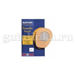 Супинатор кожаный SAPHIR Semelle Insolle Coussin Stop Adhesif безразмерный - sphr229