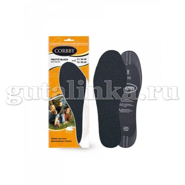 Стельки CORBBY FROTTE для обуви цветные безразмерные -