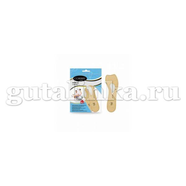 Стельки CORBBY ортопедические Orto 34 из натуральной кожи -