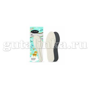 Детские зимние шерстяные стельки CORBBY Mis низкий ворс безразмерные - corb1282c