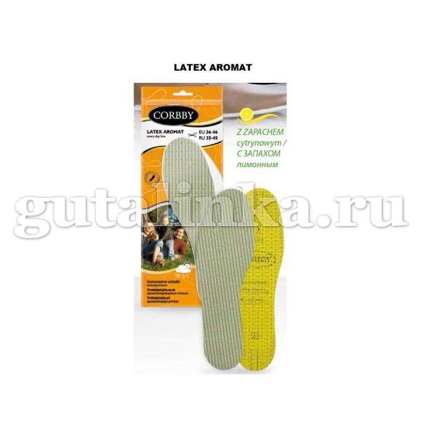 Детские ароматизированные стельки CORBBY Latex Aromat безразмерные - corb1212c