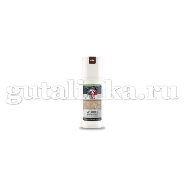Средство для освежения кожи велюрнубук Velurs Nubuk Pflege BUFALO флакон с губкой 75 мл -