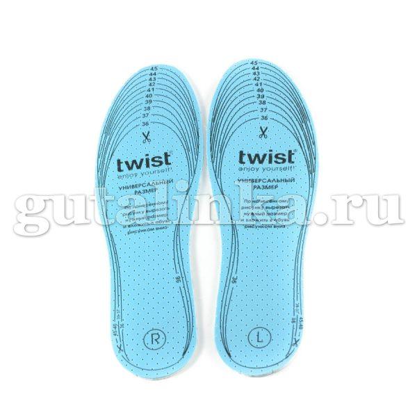 Стельки TWIST Fashion антибактериальные Style Antibacterial безразмерные - TW03-F0045