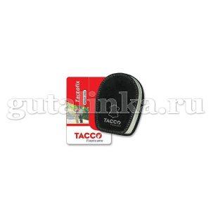 Подпяточник TACCO footcare Fix Black из черной не линяющей овечьей кожи для разгрузки пятки -