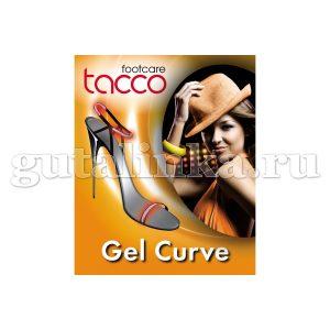 TACCO footcare Gel-Curve Ремешковый держатель из мягково геля для дамской обуви - 657-00