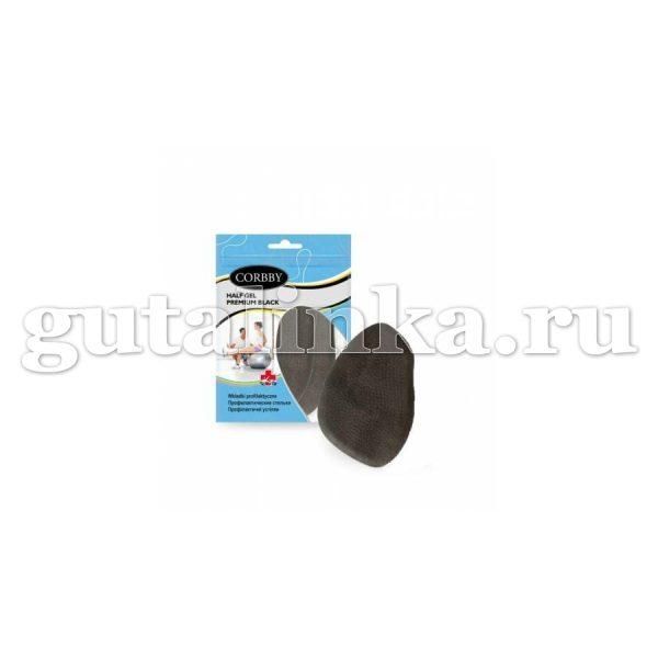Полустельки гелевые CORBBY Half Gel Premium black безразмерные - corb1455c