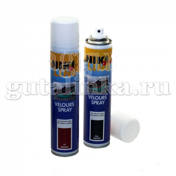 Спрей для ухода за всеми видами велюра Velours Spray NIKI LINE аэрозоль 200 мл -