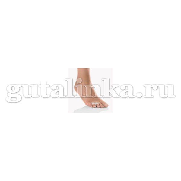 Разделитель пальцев 1 пара 2 шт с двойным кольцом Zehenspreizer mit Doppelring Pedi Soft BORT -