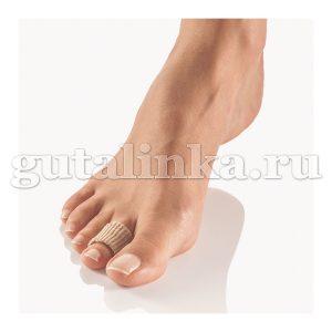 Защитное гелево-тканевое кольцо 2 шт Zehen-Fingerschutz-Pad Pedi Soft TexLine BORT -
