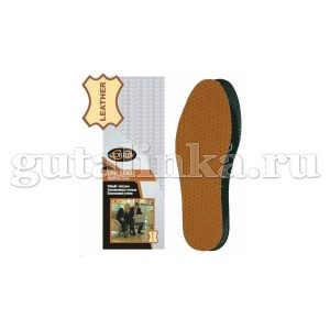 Кожаные гигиенические стельки CORBBY Uni Leder безразмерные - corb1251c