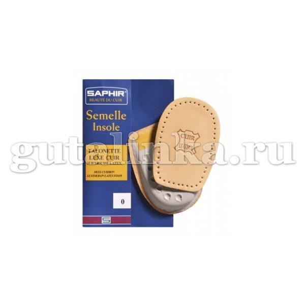 Подпяточник кожаный SAPHIR Semelle Insolle Talonnette Luxe Cuir -