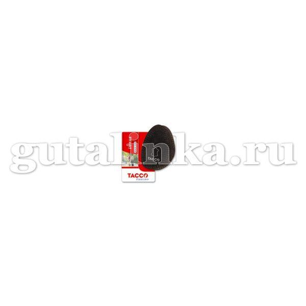 Вкладыш TACCO footcare Luxus Black light двухслойный черный -