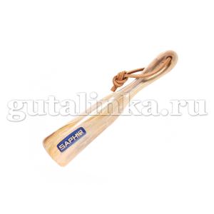 Рожок для обуви SAPHIR пластик с логотипом 17 см - sphr2710