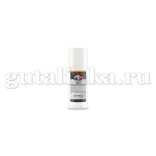 Средство-краска для белой обуви Schuhweiss BUFALO флакон с губкой 75 мл - 900678