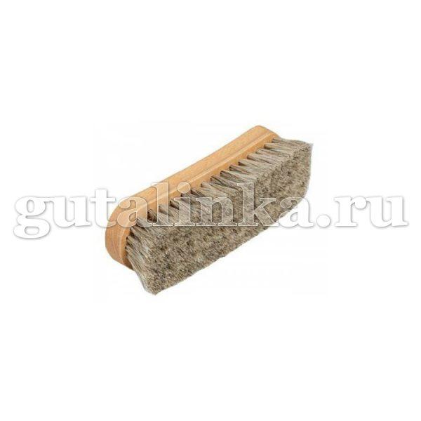 Щетка SAPHIR светлая колодка 17 см деревонатуральная щетина - sphr2643