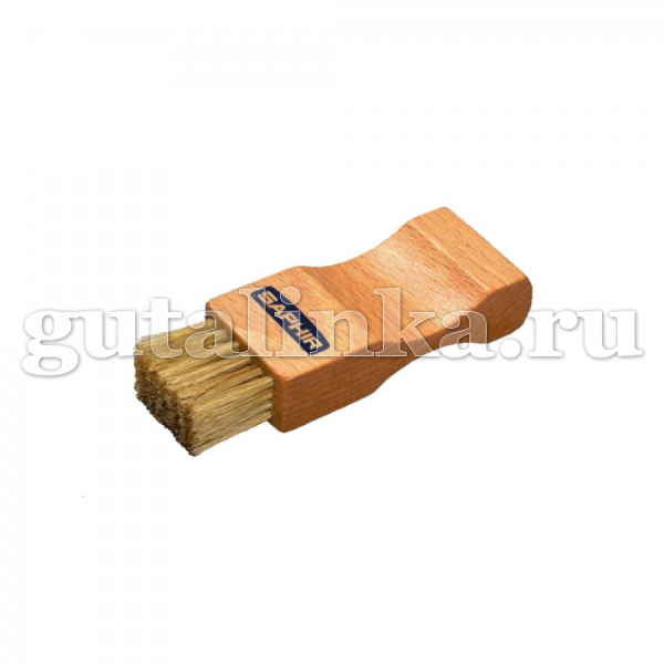 Щетка-Намазок SAPHIR малая светлая колодка 7 см деревонатуральная щетина - sphr2600