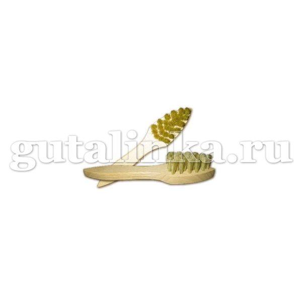 Щётка для нанесения кремов Eincremeburste natur SOLITAIRE треугольная - 904521