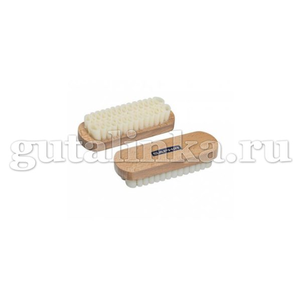 Щетка для замши большая SAPHIR светлая колодка 12 см деревокаучук - sphr2620