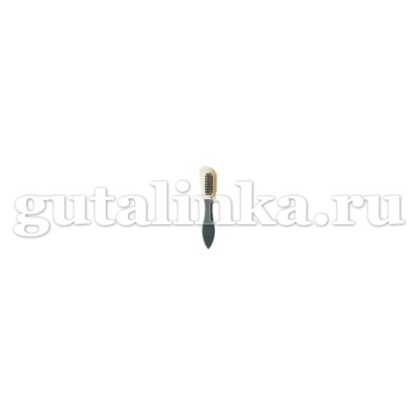 Комбинированная щетка с нейлоновой и латунной щетиной Kombiburste Perlon SOLITAIRE - 904537