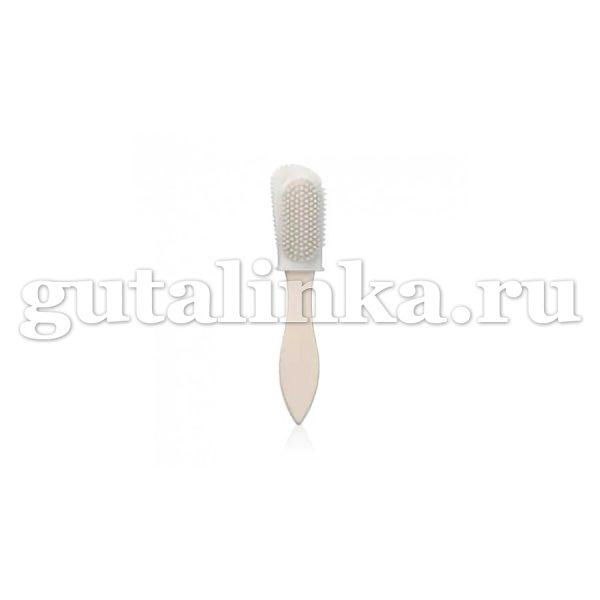 Щётка для кожи велюрнубук Kombiburste Nylon SOLITAIRE - 904524